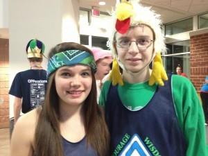 Amber and Logan, Freshmen: Harrisburg