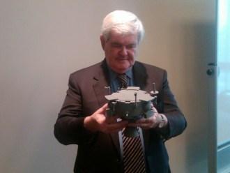 Newt Gingrich Lunar Lion