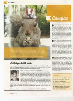 Sneezy German Magazine