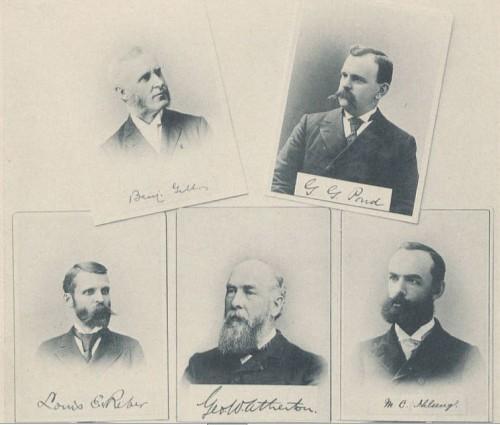 La Vie 1897: Faculty