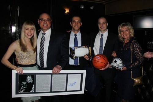Last year's auction winners.