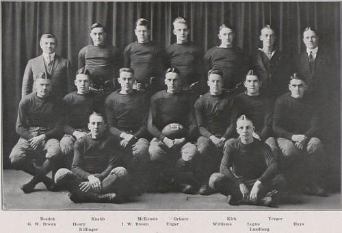 1918 Penn State football team coached by Hugo Bezdek