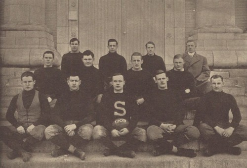 1909 Penn State football team coached by Bill Hollenback
