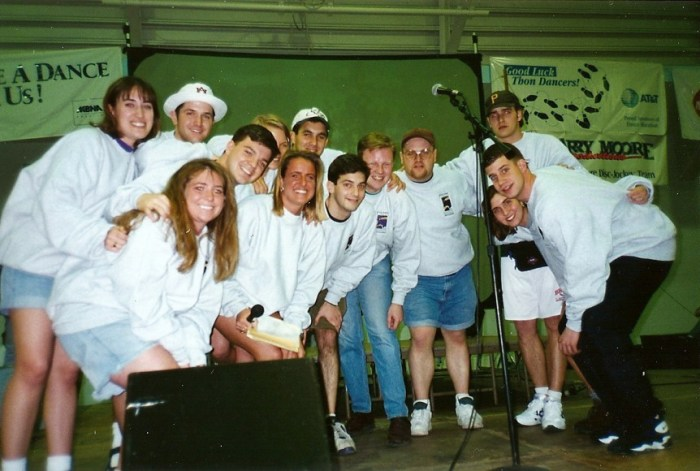 1995 Overall Committee before THON