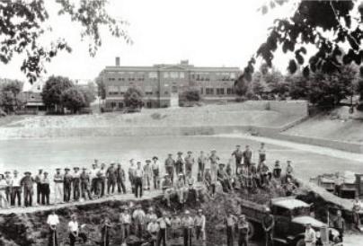 Memorial Field, 1935 Photo: Penn State Alumni Association