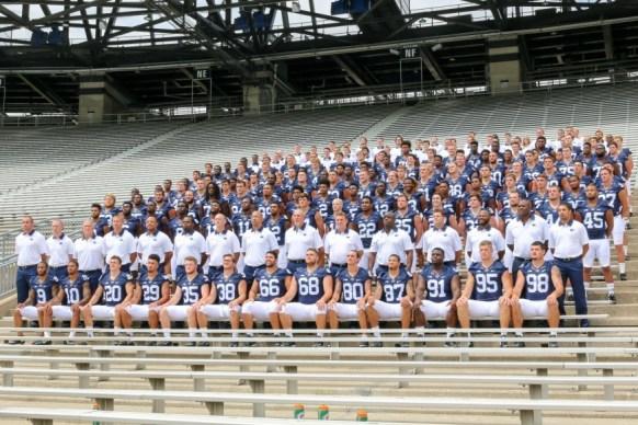 2015 Football Team Photo