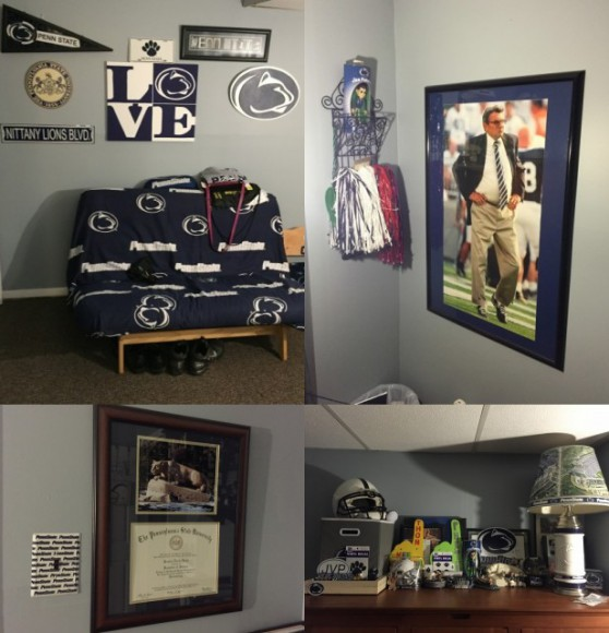 Penn State Themed Rooms 4