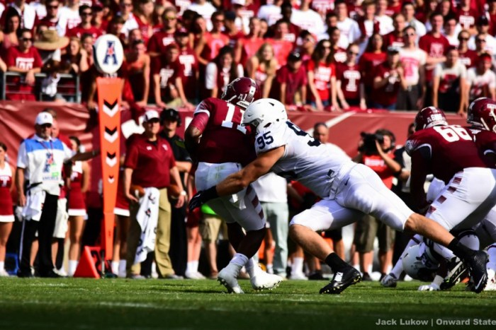 carl nassib penn state football at temple