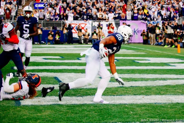 Saquon Barkley Football Illinois 2015
