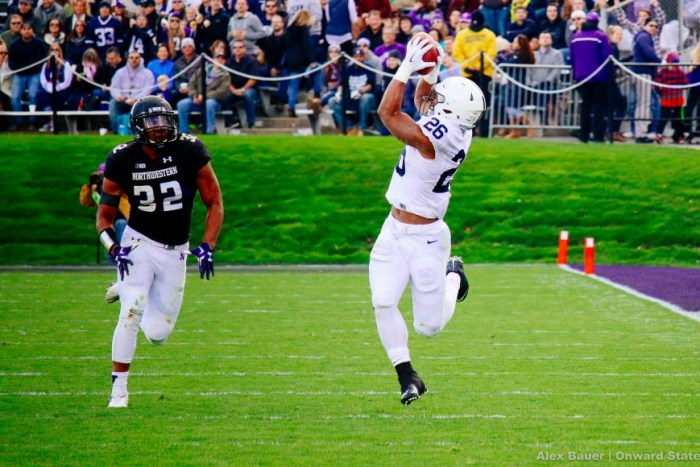 Saquon Barkley Football Northwestern 2015