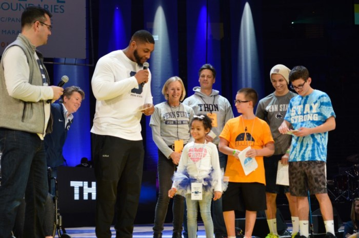 Devon Leah Still Pep Rally PJ THON 2016