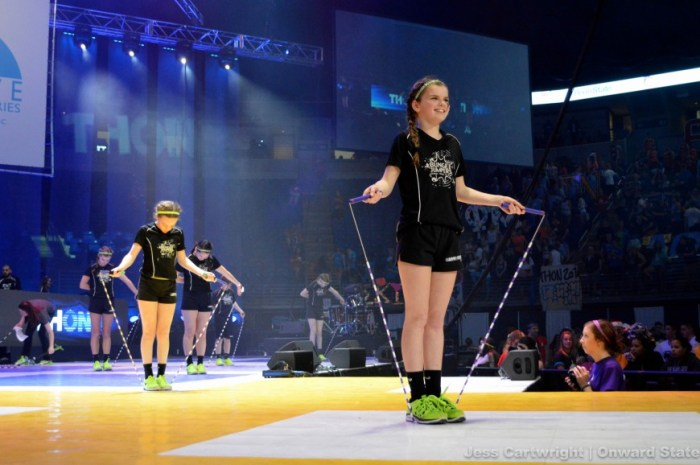 thon 2016 jump ropers talent