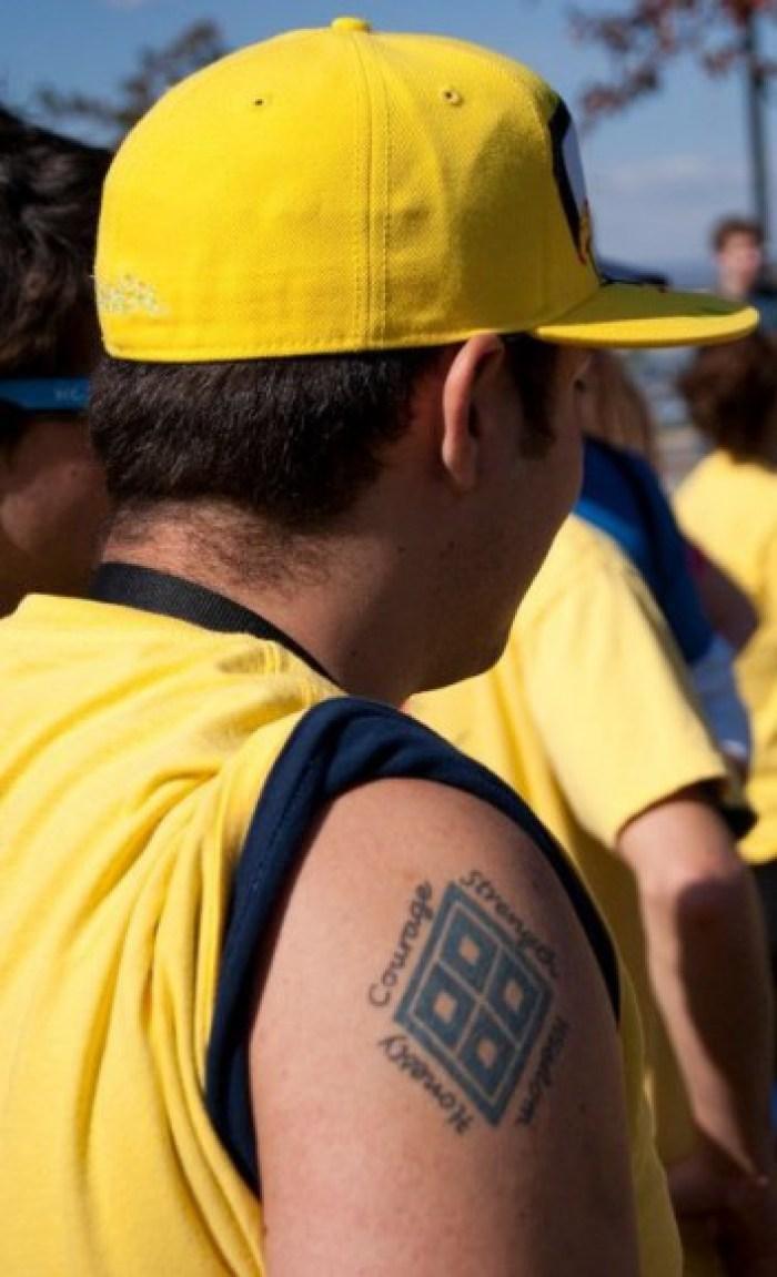 Jon Florio_Four Diamons Tattoo