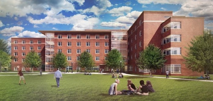 New North Halls Res Hall