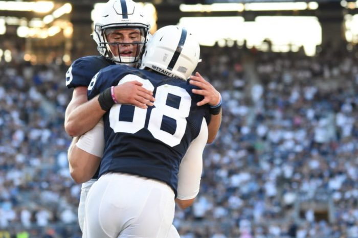 Mike Gesicki and Trace McSorley