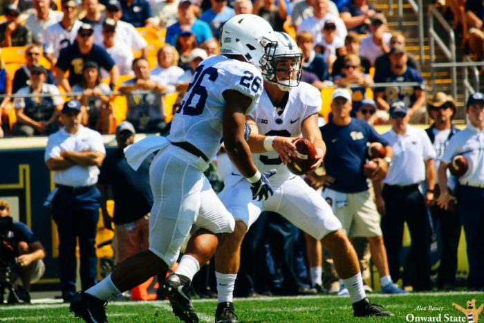 Trace Mc Sorley Saquon Barkley Penn State Football at Pitt 2016