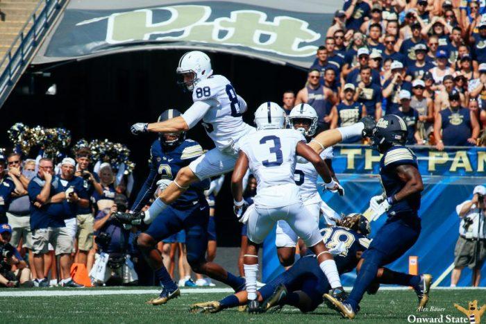 Mike Gesicki Penn State Football at Pitt 2016