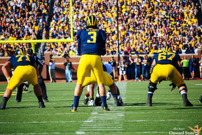 Speight Penn State Football vs Michigan 2016