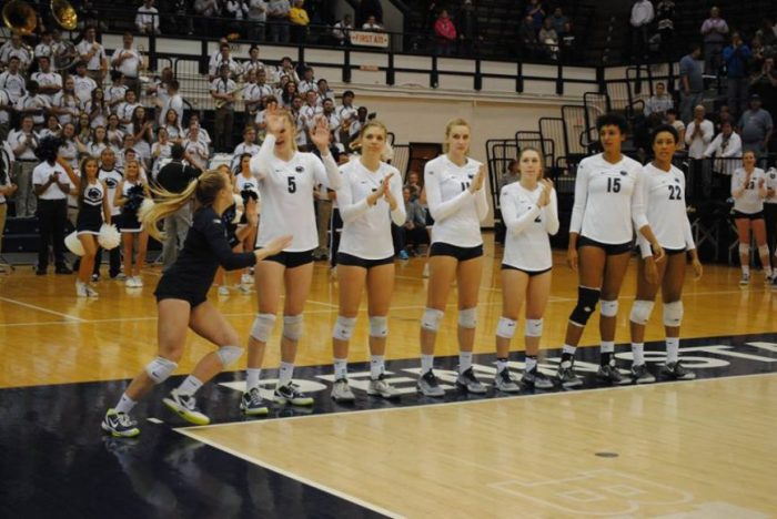 Women's Volleyball vs. Michigan State