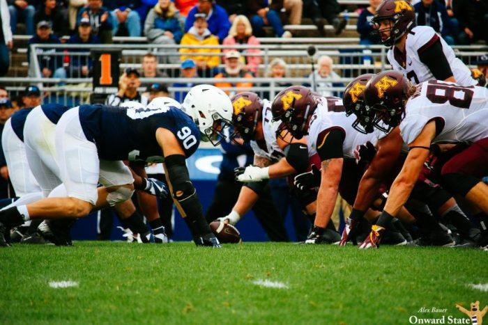 Defense Penn State Football vs Minnesota 2016