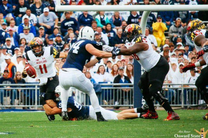 Penn State Football vs. Maryland 2016 defense