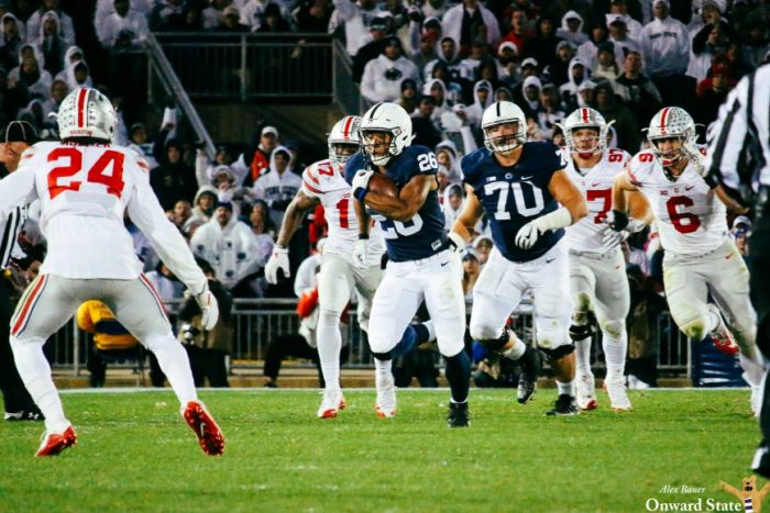 Saquon Barkley Penn State Footbal vs. Ohio State 2016