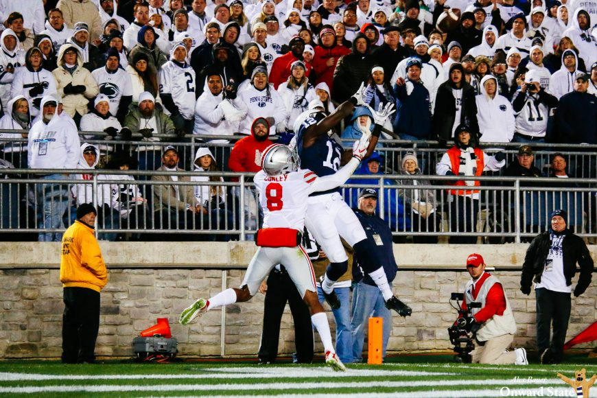 Chris Godwin Penn State Footbal vs. Ohio State 2016