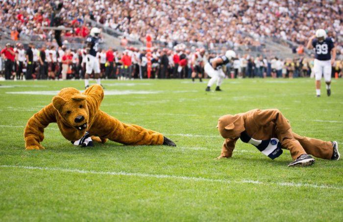 Cole Rhinehart Nittany Lion Pushups