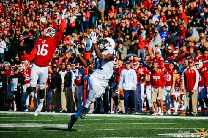 Irvin Charles Penn State Football at Indiana 2016
