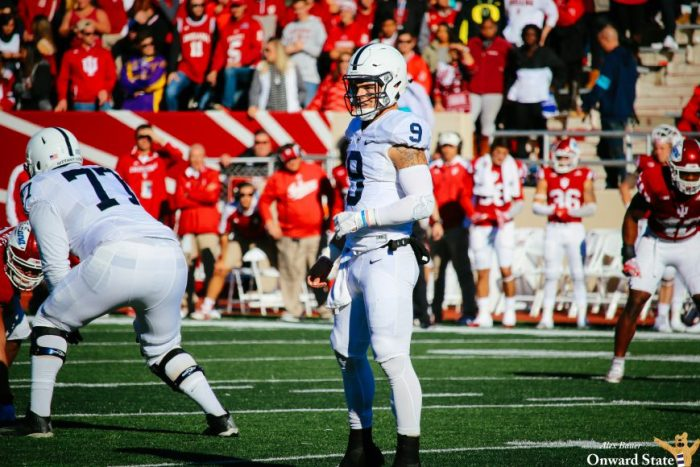 Trace McSorley Penn State Football at Indiana 2016