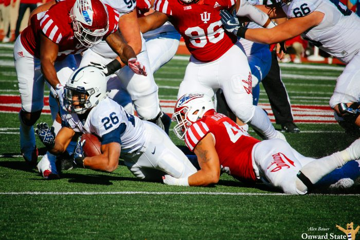 Saquon Barkley Penn State Football at Indiana 2016