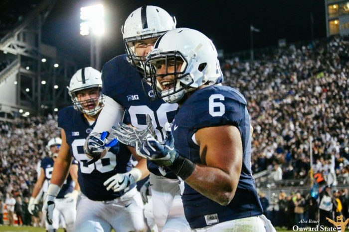 Andre Robinson Penn State Football vs Michigan State 2016