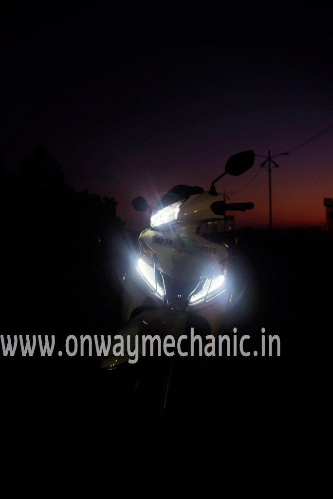 Honda activa 125 BS 6 Lights