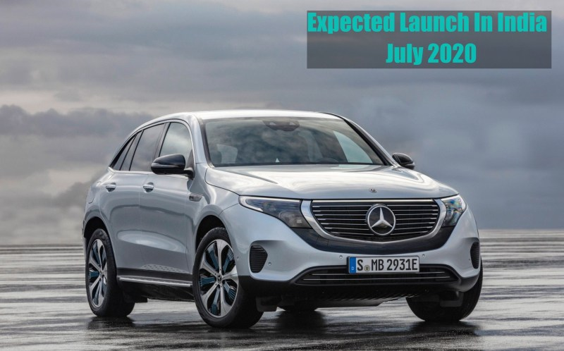 Mercedes Benz EQC 400 4MATIC launch date in India