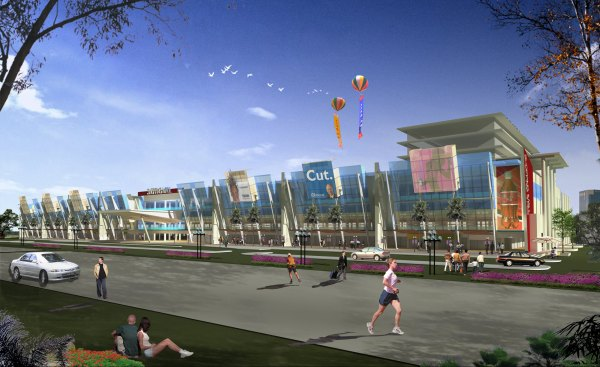 Shopping mall - miragestudio.com