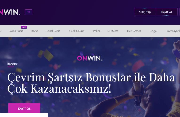 Onwin Bahis Sitesi