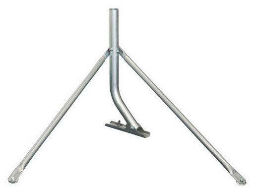 Tin Roof antenna mount with stay bars heavy duty