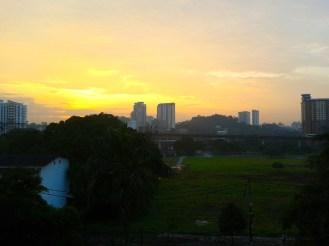 View from my balcony, Kuala Lumpur, Malaysia