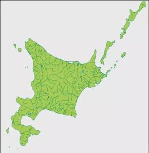 北海道と北方領土 地図
