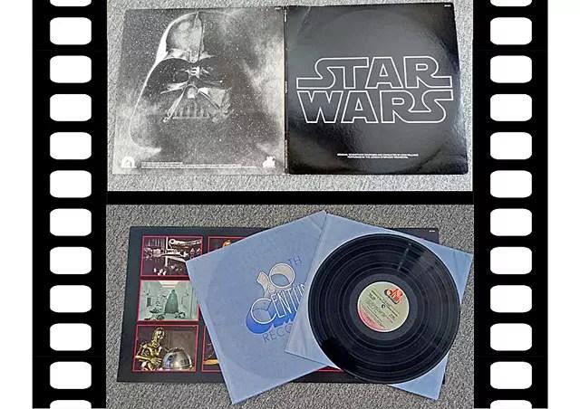 STARWARSのLPレコード