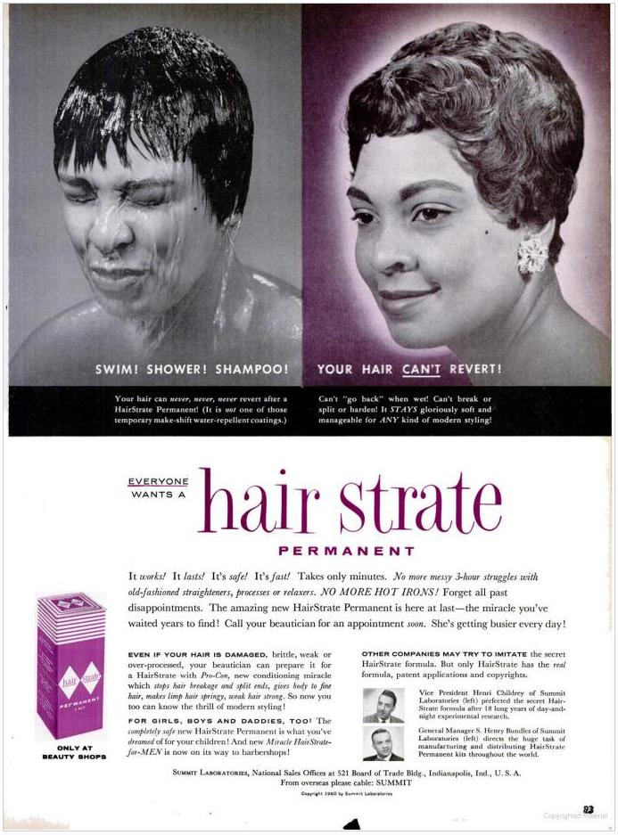 A Look Back Vintage Haircare Ads ONYC World