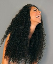 types of deep curly hair weave