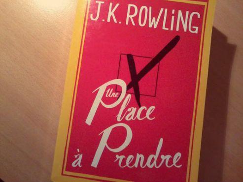 Une place à prendre - JK Rowling