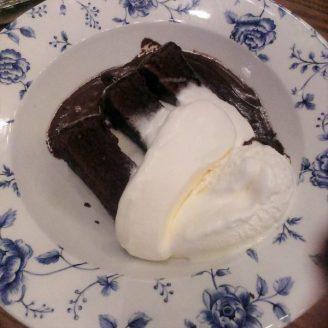Chocolate Fudge Cake au Coronet