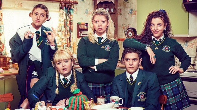 Derry Girls series - Channel 4