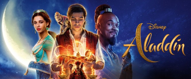 bannière Aladdin Disney 2019