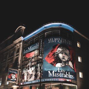 les miserables Londres