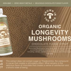 Cymbiotika Organic Longevity Mushrooms