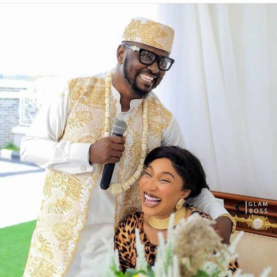 Tonto Dikeh Reportedly Breaks Up With New Lover, Prince Kpokpogri