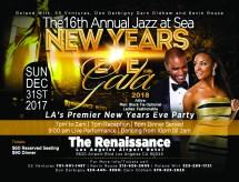 Dec 31st La Premier Jazz Sea Years Eve Black